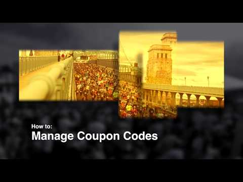 Manage Coupon Codes