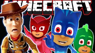 PJ Masks *What Happened to Toy Story ?* | Minecraft