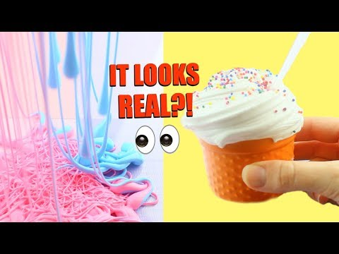 Thumbnail: CRAZY SLIME TRENDS TESTED + RECIPES!! 🍰😵