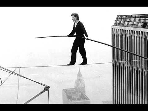 Philippe Petit let the great world spin