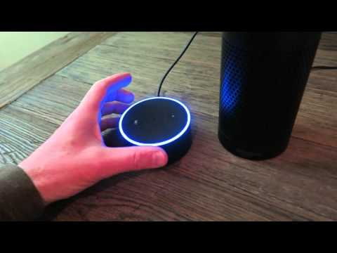 Amazon Echo Dot Sound Check