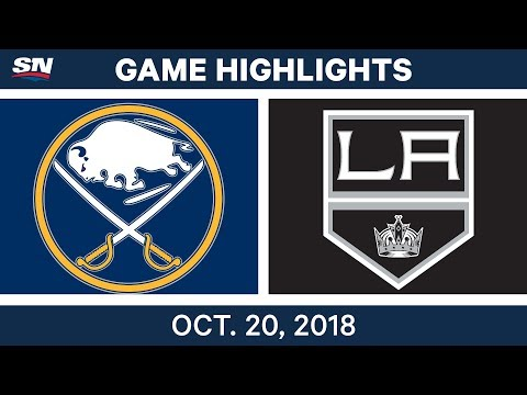 NHL Highlights | Sabres vs. Kings - Oct. 20, 2018