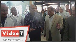 محافظ القاهرة يتفقد مستشفى الشيخ زايد.. والمدير: نسعى لزيادة الأسرة لـ200