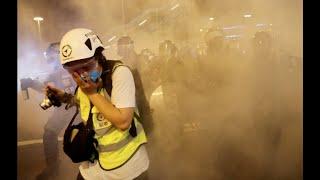 香港风云(2019年10月9日) 催泪瓦斯烟雾下 新闻自由受戕害?