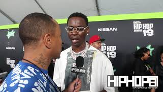 Young Dolph Talks Penny Hardaway & Memphis Tigers Basketball, New Music & More (BET HipHop Awards)