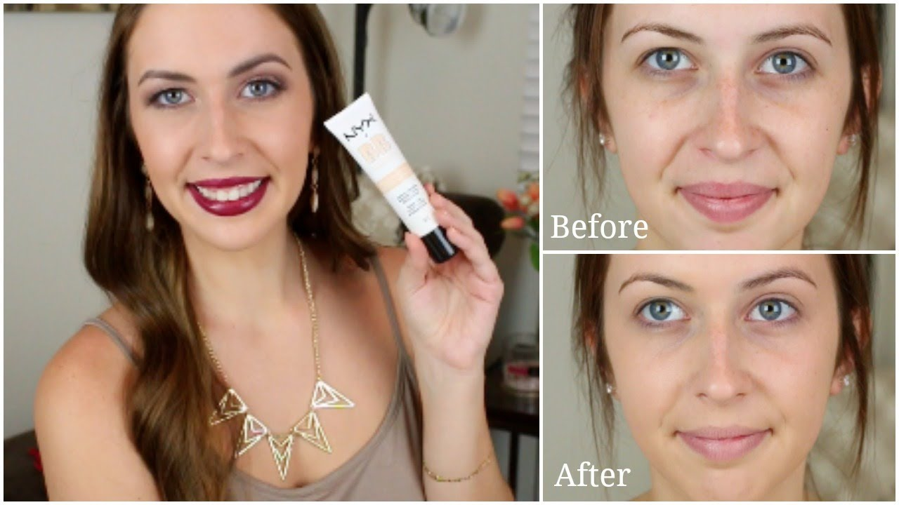 NYX Beauty Balm BB Cream Review | Makeup Minute - YouTube
