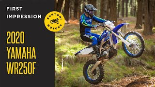 2020 Yamaha WR250F Revealed! Here is what you need to know.