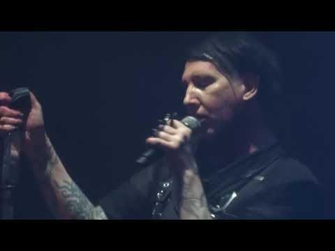 Marilyn Manson - Third Day Of A Seven Day Binge - Manchester, UK - Dec 04 2017