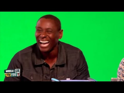 """David Harewood: """"I can balance a banknote on my nose."""" - Would I Lie to You?"""