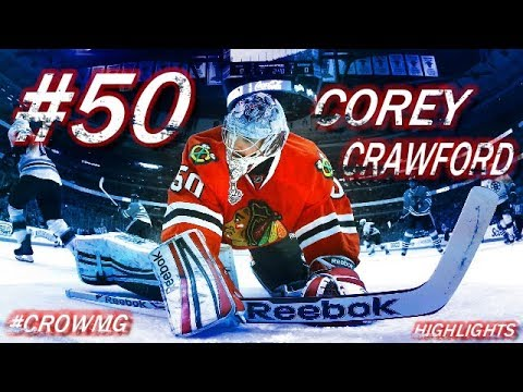 CHICAGO BLACKHAWKS #50 COREY CRAWFORD HIGHLIGHTS [HD]