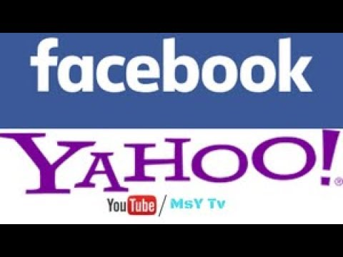 how to make yahoo facebook account