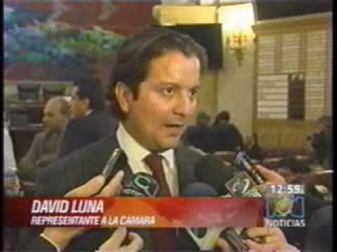David Luna asistió al debate que suprime el Departamento Administrativo de Seguridad, DAS.