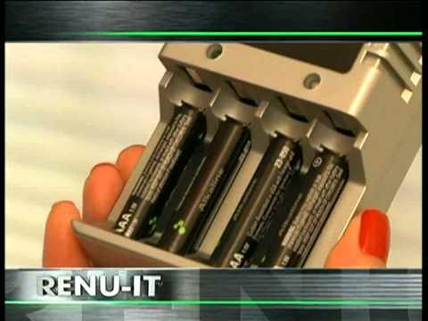 RENU IT - Συσκευή επαναφόρτισης μπαταριών