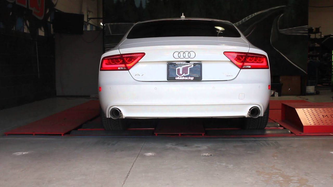 audi a7 3 0t supercharged sedan exhaust revs with magnaflow system youtube. Black Bedroom Furniture Sets. Home Design Ideas