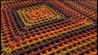 The Square Waffle Blanket Crochet Tutorial!