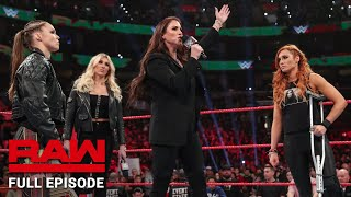 WWE Raw Full Episode, 4 March 2019