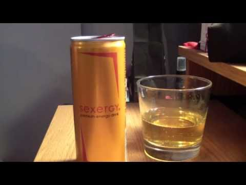 "TPX Reviews - ""Sexergy Energy Drink (Peach Tangerine)"" (Germany)"