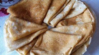 Овсяные блинчики/блины без пшеничной муки/ правильное питание