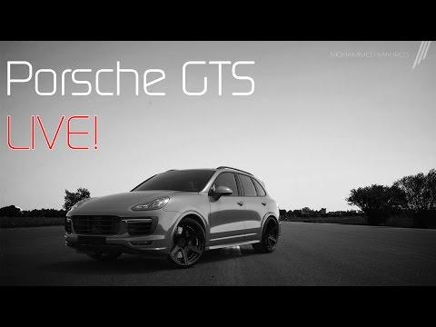 Porsche Cayenne GTS // 3D Rendering
