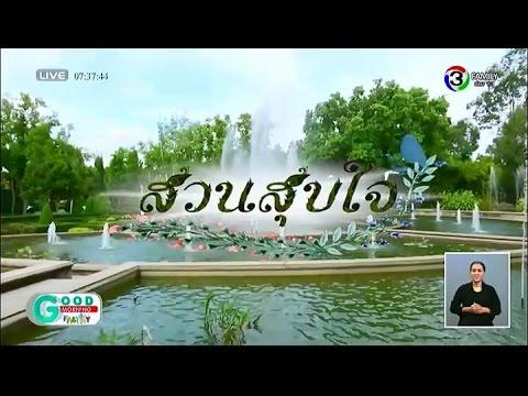 GoodMorningFamilyNews | สวนสุขใจ : สวนสมุนไพรสมเด็จพระเทพรัตนราชสุดาฯ จ.ระยอง | 091058