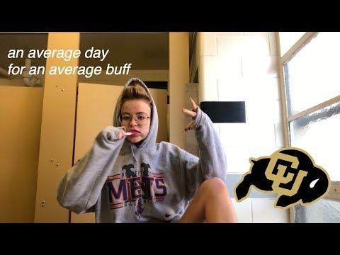 Average Day In My Life (as A Freshman At CU Boulder)
