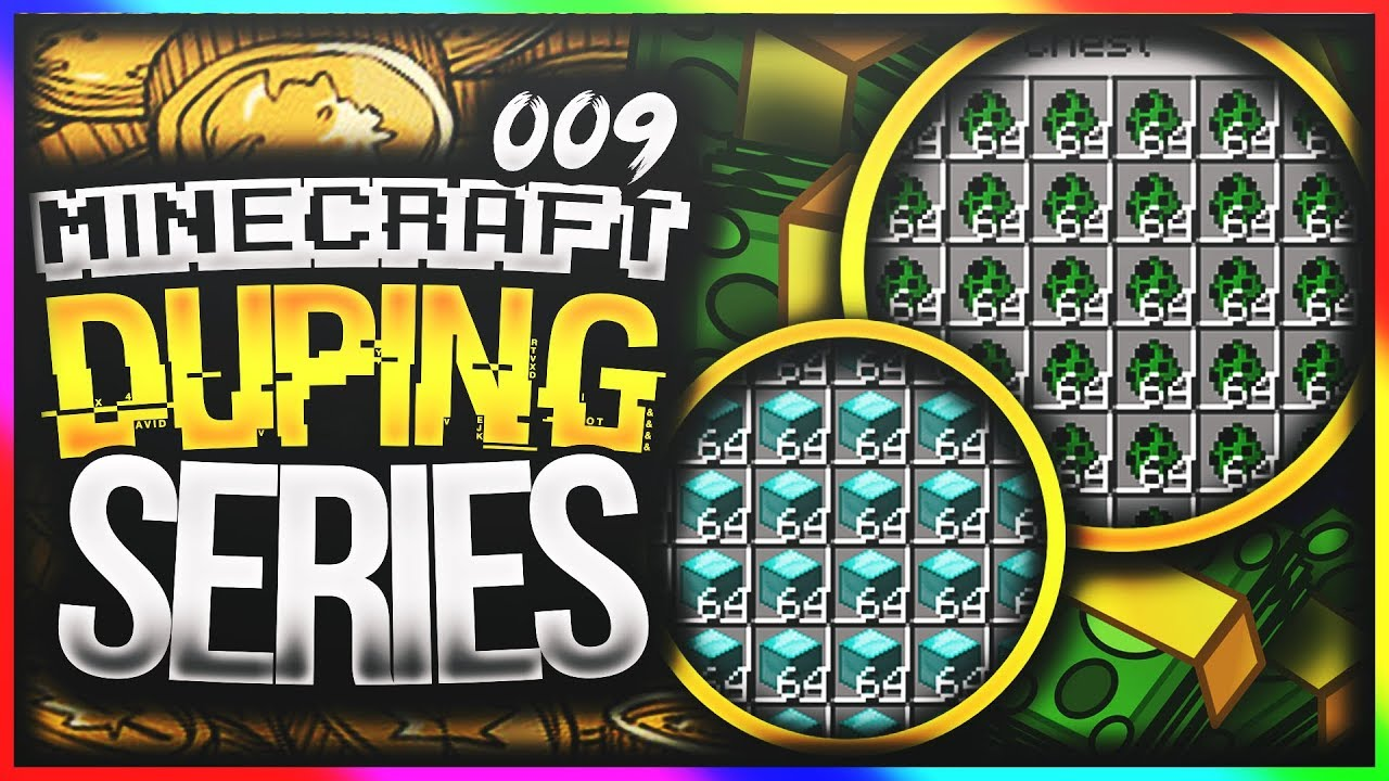 DUPING ON A 1 11 / 1 12 FACTIONS SERVER | Minecraft DUPING Series #9