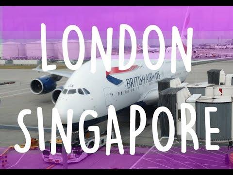 BRITISH AIRWAYS LONDON SINGAPORE SYDNEY A380 Economy BA11 BA12 Trip Report Blond Reports