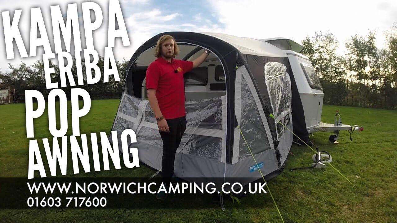Kampa Pop Air Pro Eriba Caravan Awning Review Youtube