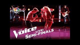 "The Voice 2017 Chloe Kohanski & Noah Mac - Semifinals: ""Wicked Game"" - Reaction"