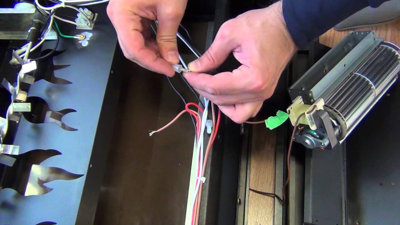 Electric Fireplace Insert Fan Replacement - YouTube