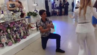 Абхазская свадьба. Танец в исполнении Дамира Аргун