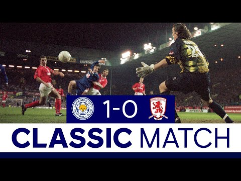 Foxes Seal League Cup Success With Win Over Boro | Classic Matches