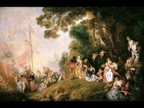Los secretos de la fiesta galante · JEAN ANTOINE WATTEAU