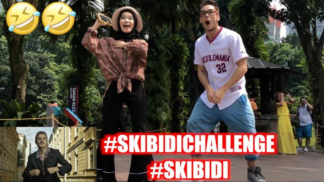 SKIBIDI CHALLENGE LITTLE BIG PARODY