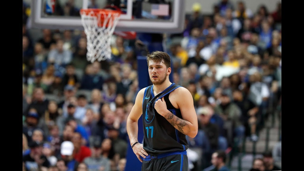 cb80a5885 Luka Doncic Hits Josh Hart With Classic Step-Back 3-Pointer. Bleacher Report