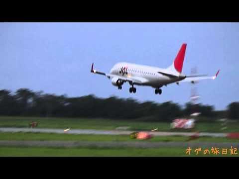 伊丹空港(ITM) - 新潟(KIJ) JAL エンブラエル ERJ-170