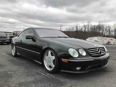 2002 mercedes benz cl500 lowered on amg wheels. Black Bedroom Furniture Sets. Home Design Ideas