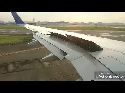 飛行機の離陸…浮いた瞬間の失速感が、ちょっと怖い!