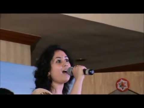 Pooja Goswami singing Zara Haule Haule...