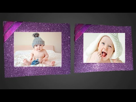 Make Awesome Photo Frame with Paper | Handmade Picture Frame Making At home