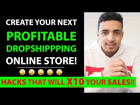Create Your Next Profitable Dropshipping Online Store | Optimization Hacks That You Must Apply NOW! thumbnail