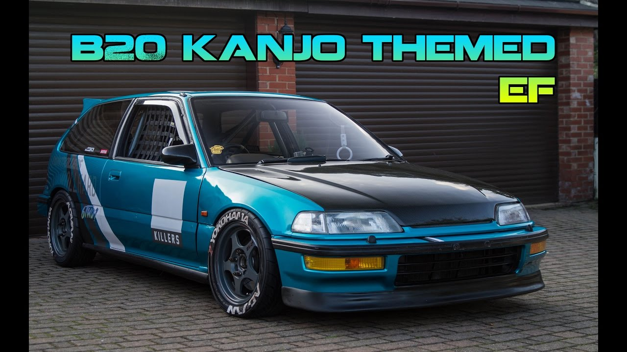 KANJO EF CIVIC B20 VTEC !! @GSUNG_NMLS - YouTube