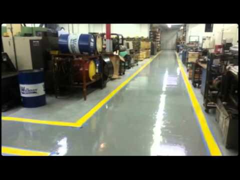 Sherwin Williams Floor Epoxy Systems Youtube