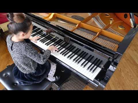 Pachelbel's Canon in D - beautiful piano version arranged in F major 卡農 鋼琴版