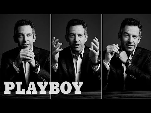 Sam Harris for Playboy