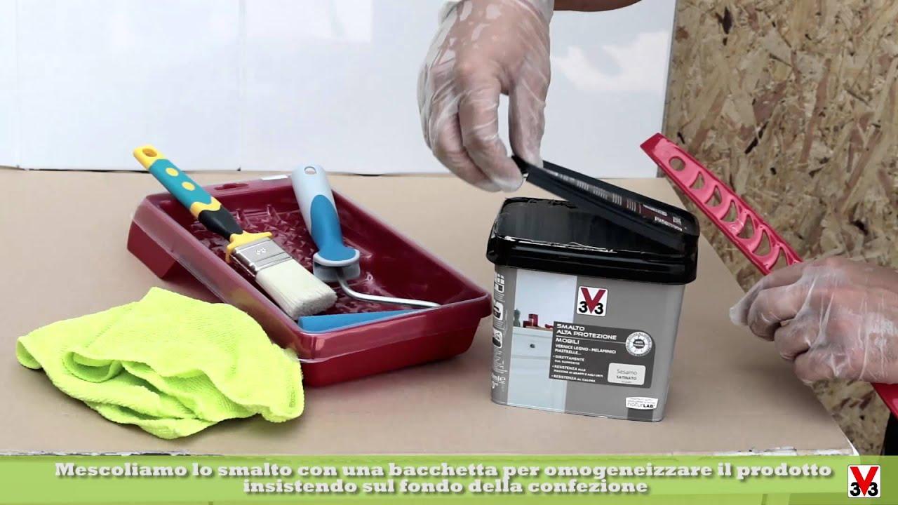 Tutorial smalto alta protezione mobili linea naturlab di v youtube