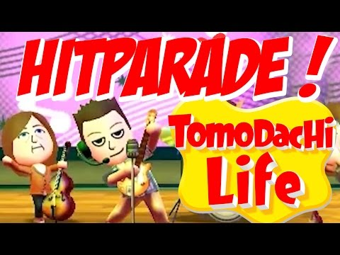 TOMODACHI LIFE ★ Hitparade ★ Alle Band-Songs! [HD]