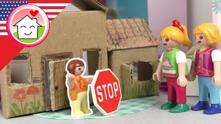Playmobil English - No-one's Allowed to Play with Me - The Hauser Family