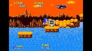 Sonic Hack Walkthrough - Sonic Megamix Version 1.0 (2005 release)