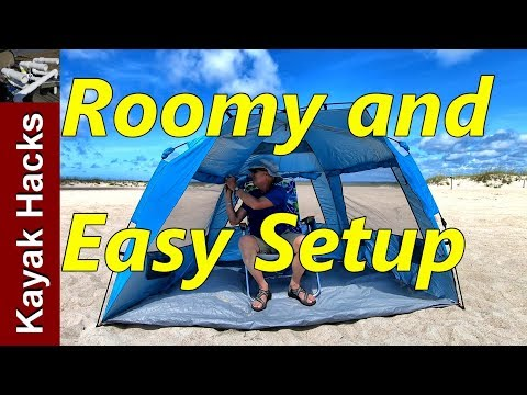 collapsible-beach-tent---perfect-for-surf-fishing!